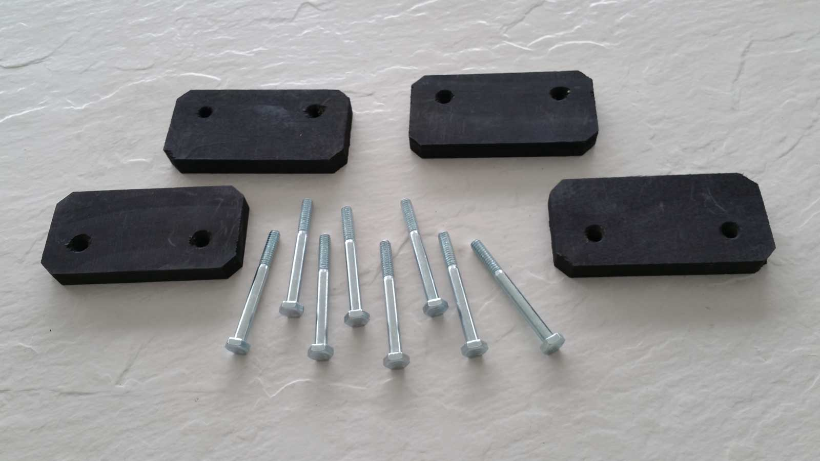 "Cobra Storage ½"" Spacer and Hardware"