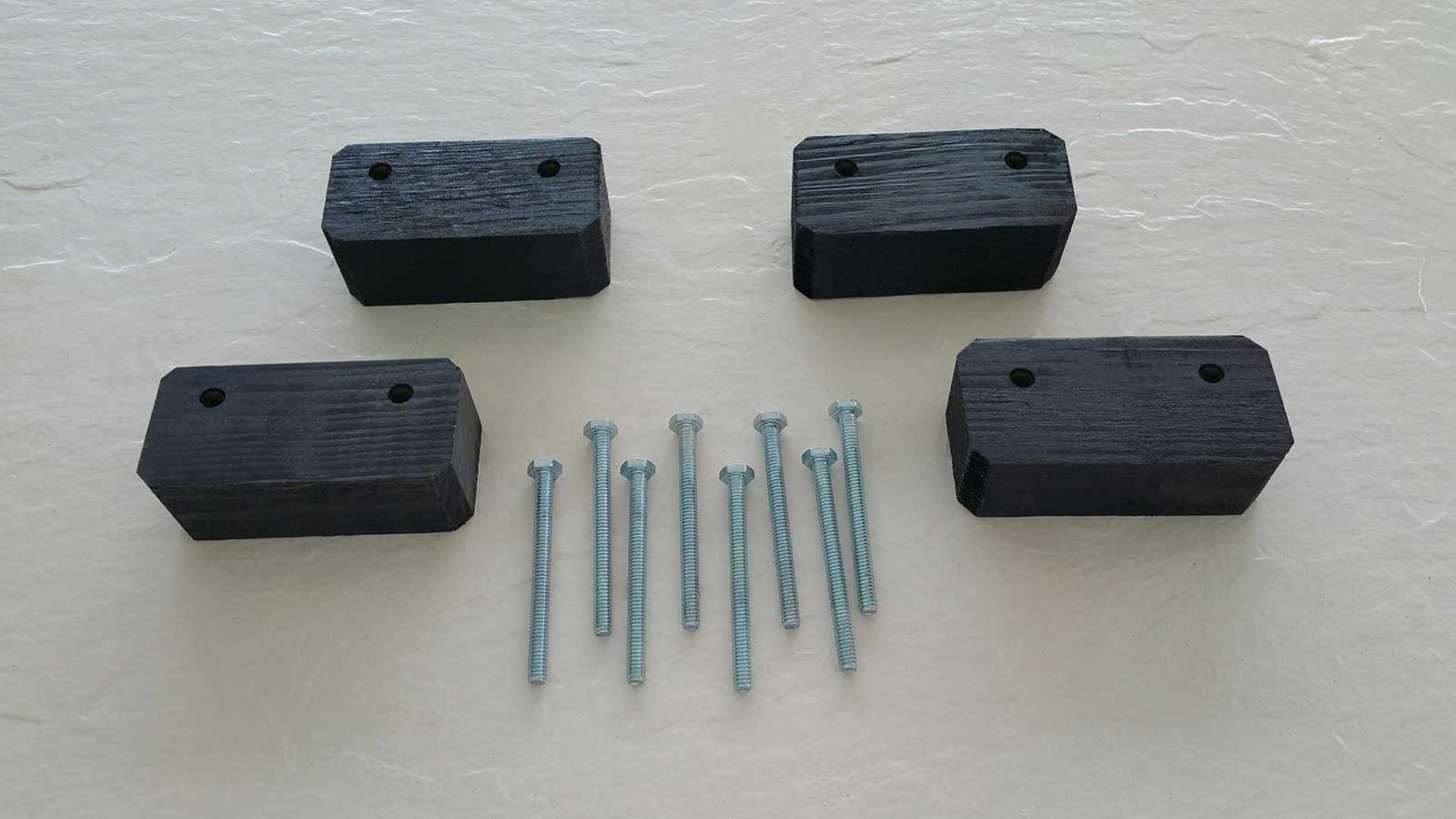 "Cobra Storage 1-½"" Spacer and Hardware"