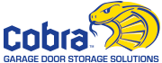 Cobra Garage Door Storage Logo
